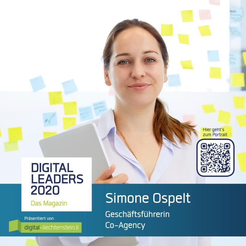 Simone Ospelt Digital Leaders 2020 Portrait